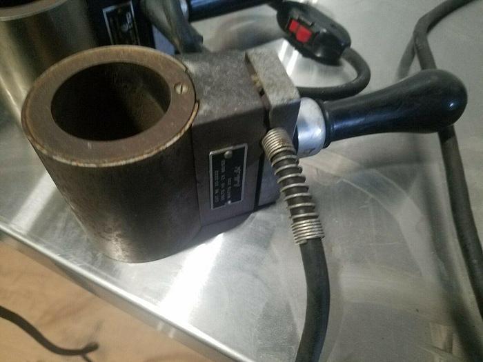 """Used Buehler Simplimet Specimen Lab Heater Model 20-2222  1-3/4"""" ID"""