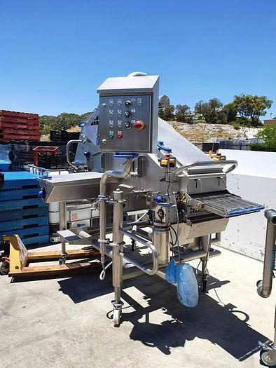 2012 PROVISUR TST WEILER PREDUSTER 400 c/w Cyclone, Dust Collector