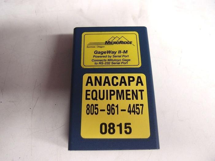 Used Microridge GageWay II-M (815)