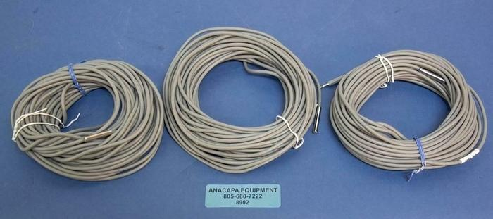 Used Onset TMC50-HD Air/Water/Soil Temperature Sensor w/ 50' Cable LOT OF 3 USED 8902