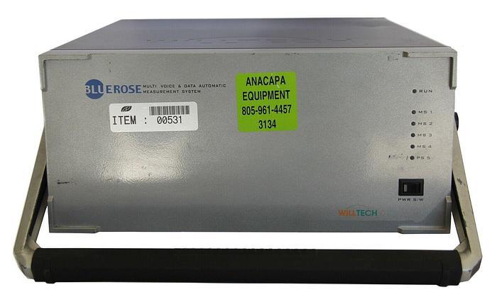 Used Willtech TM4P-DP2G_1900 BlueRose Multi Voice and Data Measurement System (3134)