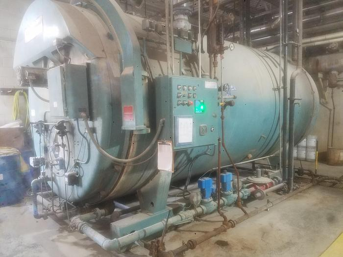 Used Cleaver Brooks CB 700-500-150 Steam Natural Gas Boiler