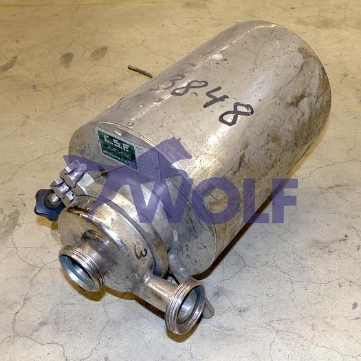 Gebraucht Glukosepumpe C.S.F. V2A ModellCL 30, 1400 UpM, 0,5 KW, Masch.-Nr.: 83.