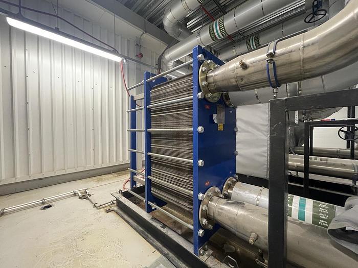 Used UK EXCHANGERS UKE-10B Heat Exchanger