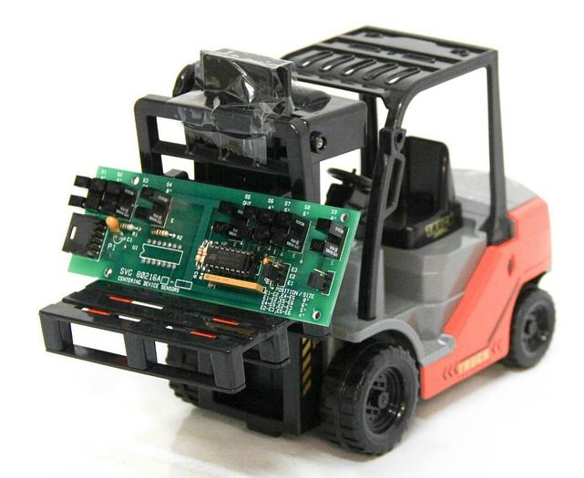 Used SVG 99-80216A-01 Centering Device Sensors Coat DEV Centering PCB CIRPRO-1 (4280)