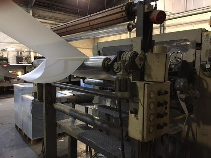 """Used 55"""" (1.40M) SHM SHEETER FOUR UNWIND STANDS MAX 600 GSM"""
