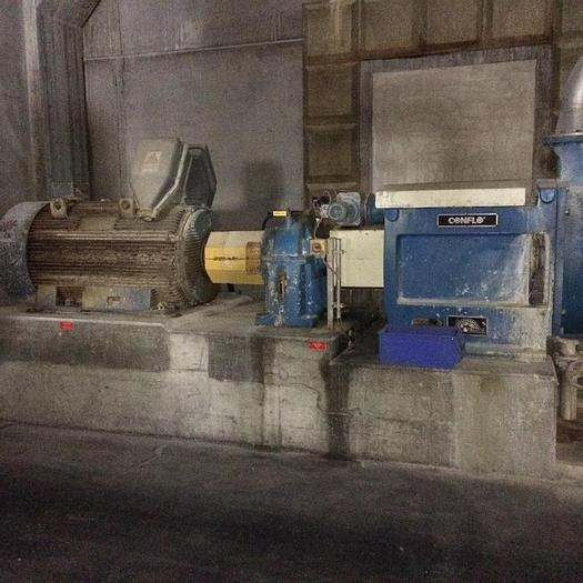 Used SUNDS MDL JC 03 CONICAL REFINER W/ MOTOR & GEARBOX