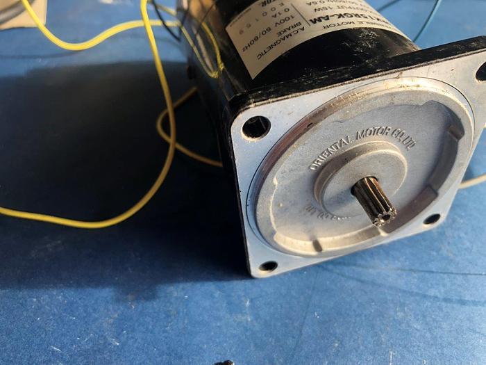 Used oriental motors 3RK15RGK-AM reversable motor
