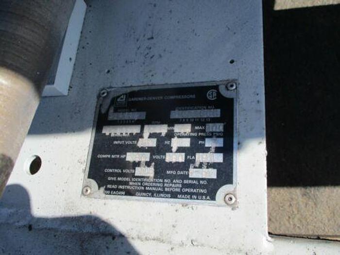 Gardner Denver 150 HP Rotary Screw Air Compressor 100 PSI