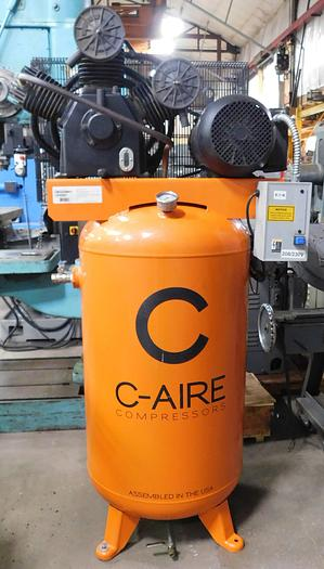 Used C-Aire 7.5 HP Reciprocating Air Compressor A075V080-1230