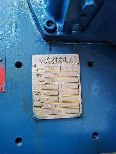 Wartsila 6L26D2