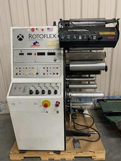 """Used 13"""" Rotoflex Slitter/Rewinder"""
