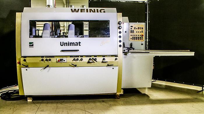 Used 2010 Weinig Unimat Gold 6 Head Moulder