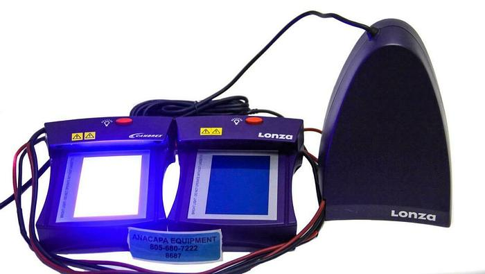Used Lonza, Cambrex 57040 FlashGel Camera, FlashGel 57025, Electrophoresis (8687)W