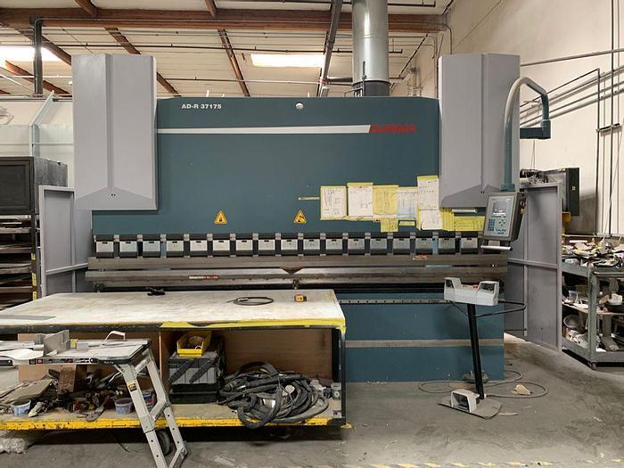 Used 2012 193 Ton x 12' Durma AD-R 37175 CNC Press Brake