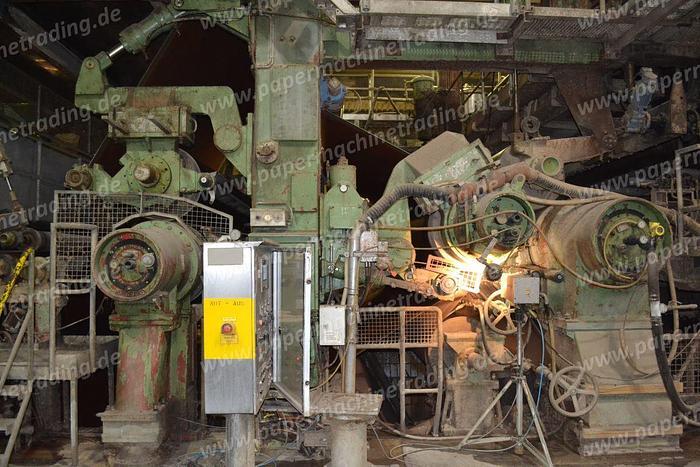 (PM4-80) - Paper Machine 2-layer for Testliner, Fluting Paper