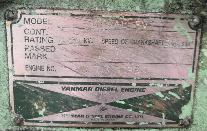 Used Yanmar 6N18AL-EV