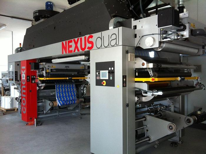 "Used 52"" (1330MM) COMEXI NEXUS DUAL LAMINATOR SOLVENTLESS OR SOLVENT BASED"