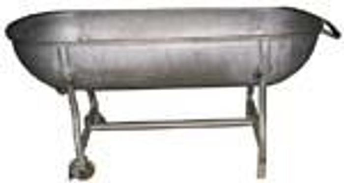 Używane Wanna aluminiowa
