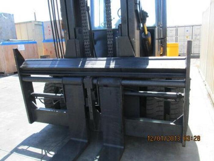 2001 HYSTER 30,000 LB DIESEL FORKLIFT MODEL H300XL 8' FORKS 7500 HOURS SIDESHIFT