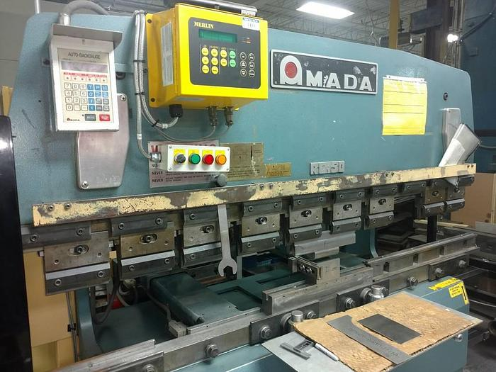 1984 50 Ton Amada Up Acting Press Brake, Loaded with tooling RG-50