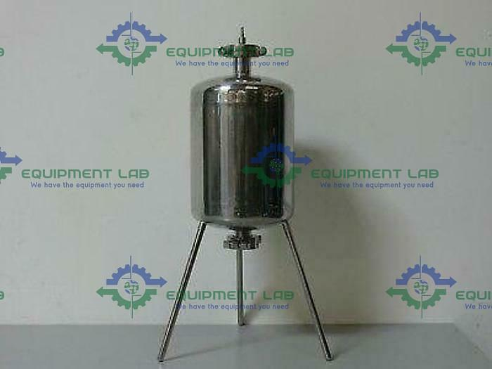 Used Sartorius 10L  Stainless Steel Collection Vessel