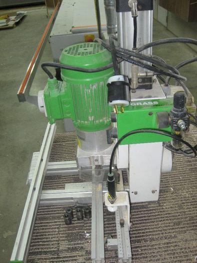 Grass Eco Press Hinge Pneumatic Boring Machine w/hinges Eco Press P