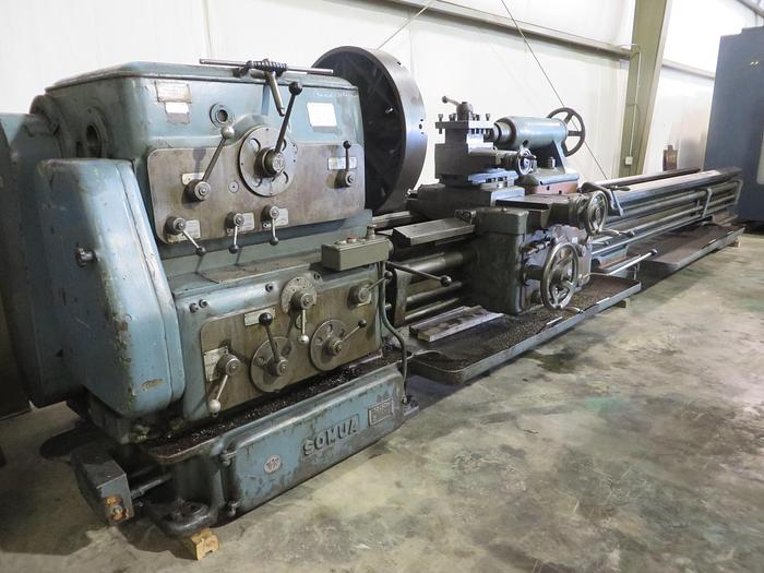 Used Somua Heavy Duty Engine Lathe