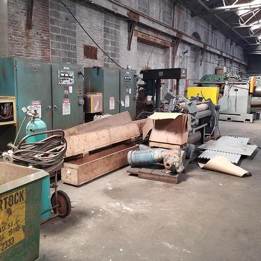"""Used 49"""" Single-Coat Coil Coating Line Components: CC-088"""