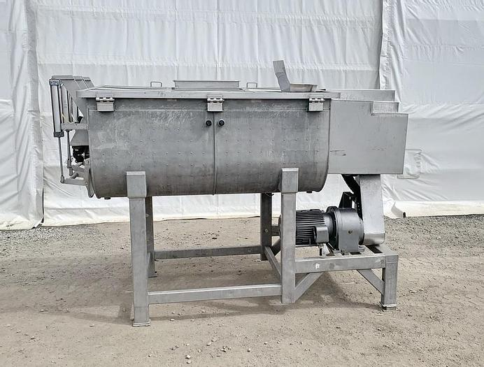 Used USED DOUBLE PADDLE BLENDER, 64 CUBIC FEET, JACKETED