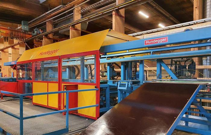 Used 2002 Hundegger  Hundegger K2, jointery line