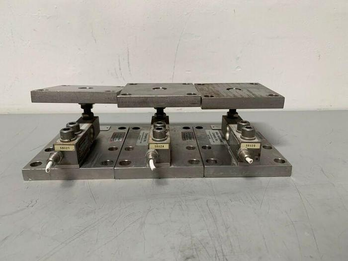 Used Lot of 3 Sensortronics Stainless Steel Load Cells 65083 Capacity 4000lbs