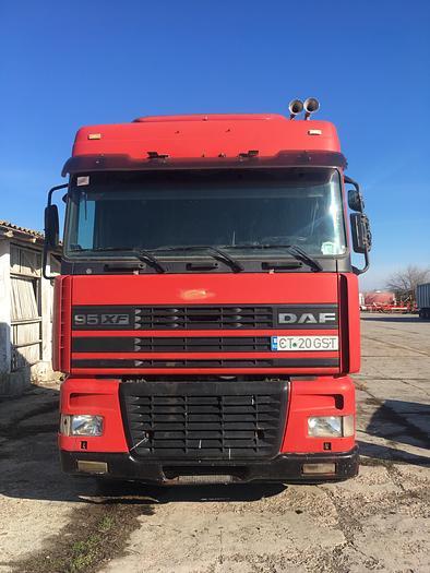 2001 DAF 95 XF 430 EURO 3 MANUAL