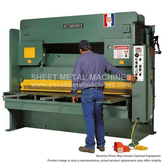 """BETENBENDER 10' x 3/4"""" Hydraulic Shear Model 10-750"""