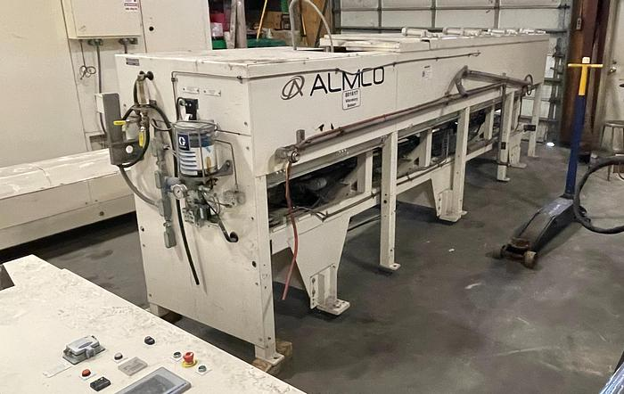 Used ALMCO MODEL V14-156TF COMBINATION VIBRATORY TUNNEL FINISH & INLINE CONVEYOR WASHER