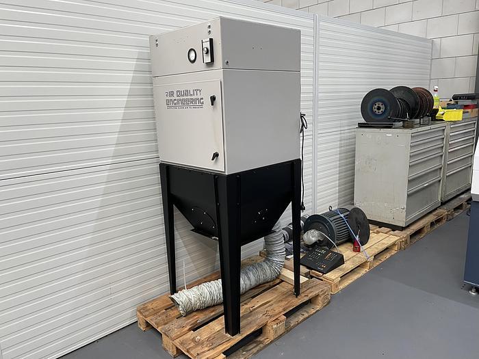 Gebruikt Air Quality Engineering stof afzuiging