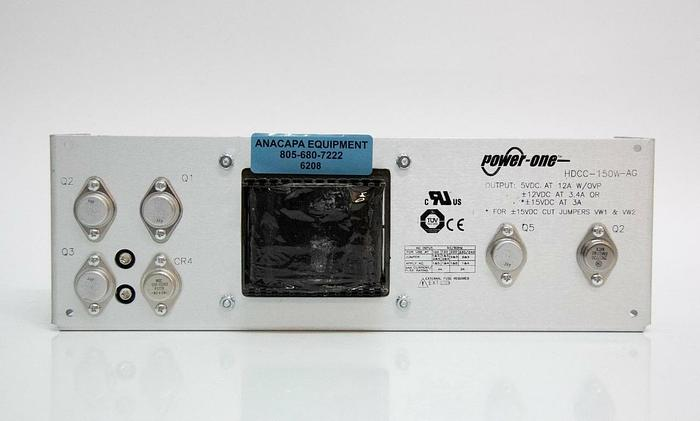 Used Power One HDCC-150W-AG Regulated Power Supply Panel (6208)