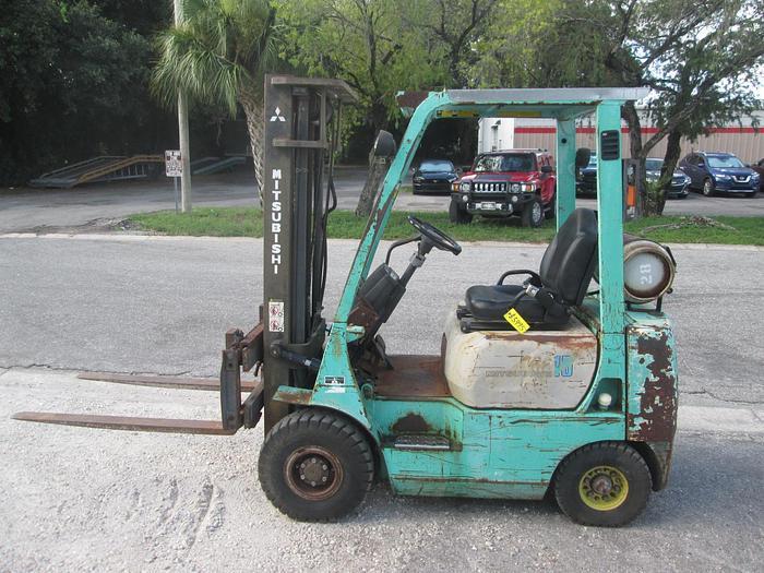 Used Mitsubishi FG15 Forklift