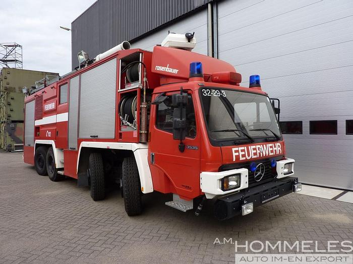 Used Rosenbauer X220006  Industrial fire truck