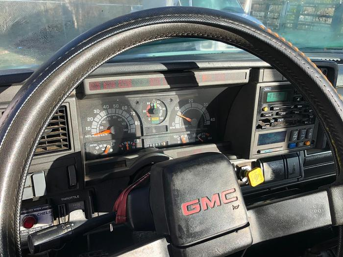 1998 GMC TOPKICK C7500 LPG TANK TRUCK