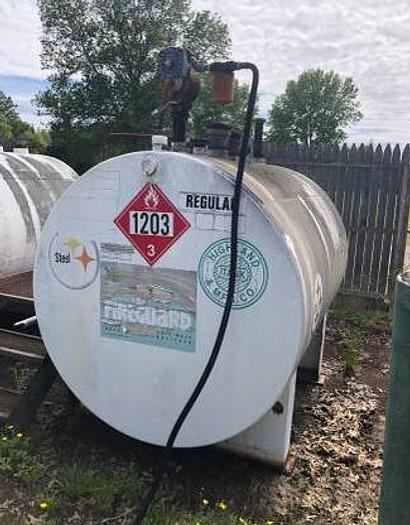 500 Gallon Double Wall Fuel Tank