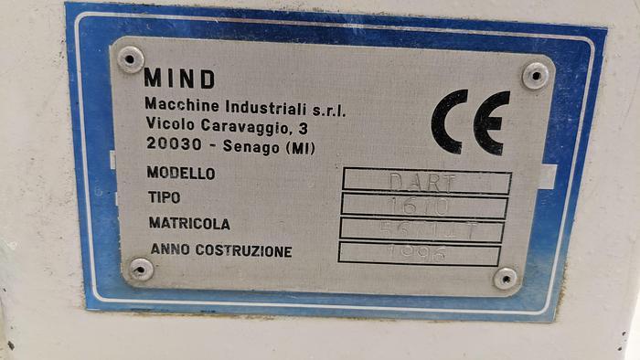 Fresa a Torretta Cnc MIND DART 1670 CNC
