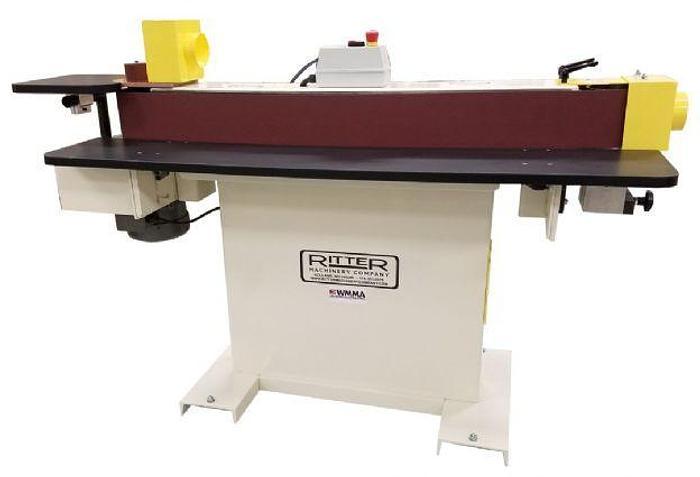 """Machinery Ritter R901 6"""" x 132"""" Edgesander Machine"""
