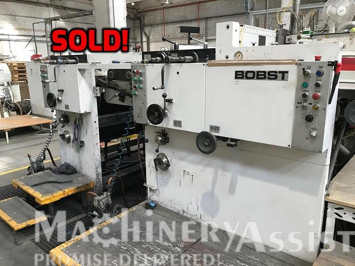 Used 1990 Bobst 1575 Flexo x 2 with transfer