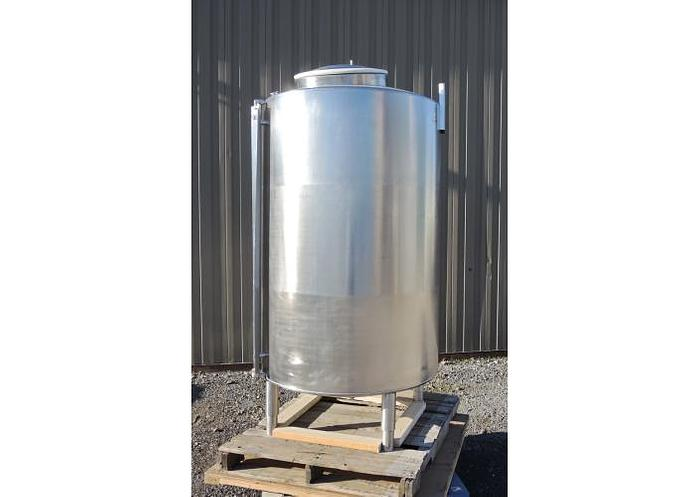 Used USED 317 GALLON TANK, STAINLESS STEEL
