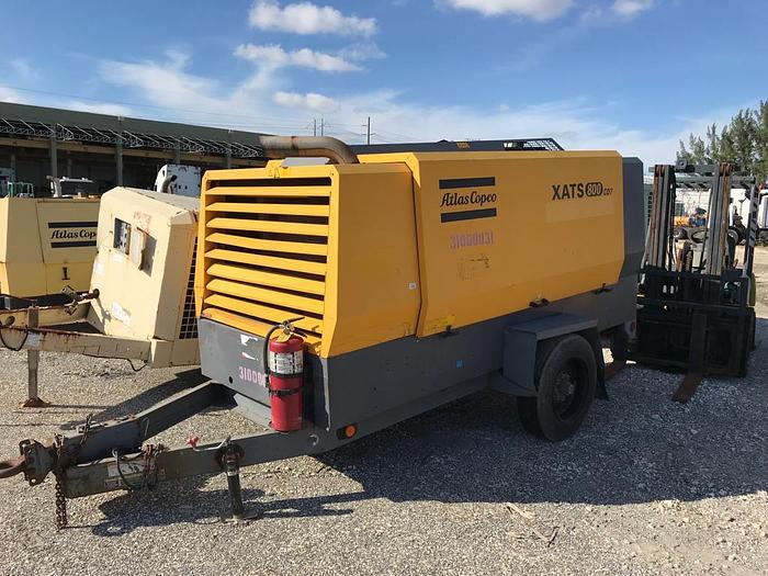 2011 ATLAS COPCO XATS800CD7