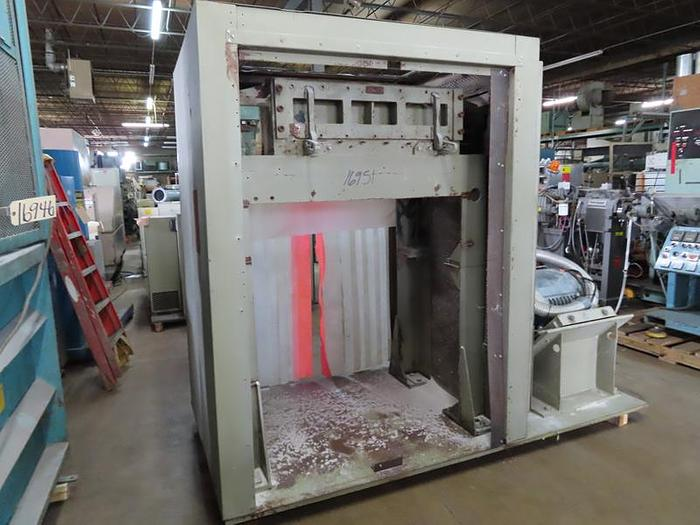 Used 150 HP NELMOR GRANULATOR MODEL G1436MB