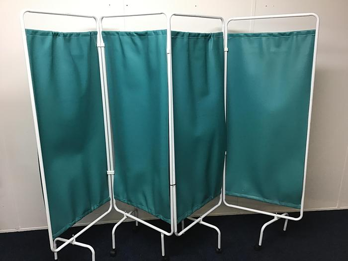 Gb medical  4 panel partition screen