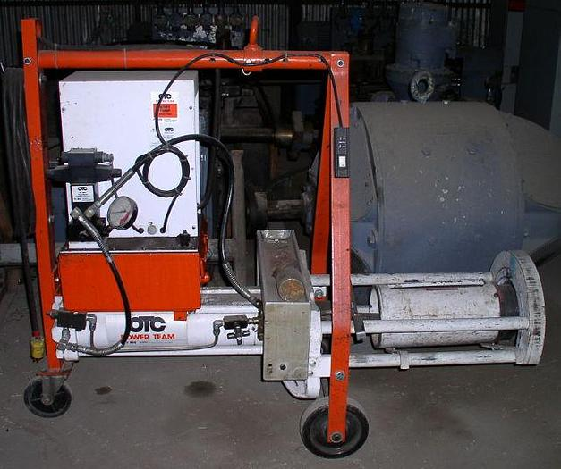 100 Ton OTC/ Power Team/ SPX Bearing Press/ Puller