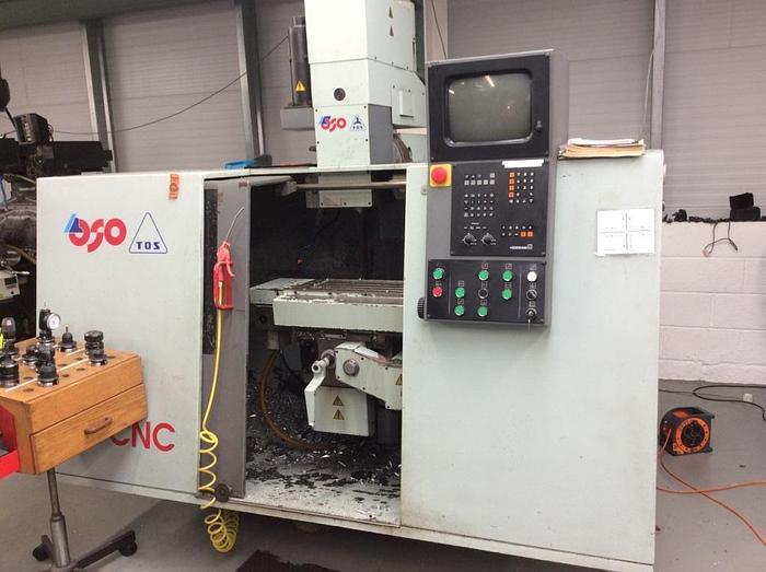 Used 1995 TOS F2V CNC Milling Machine